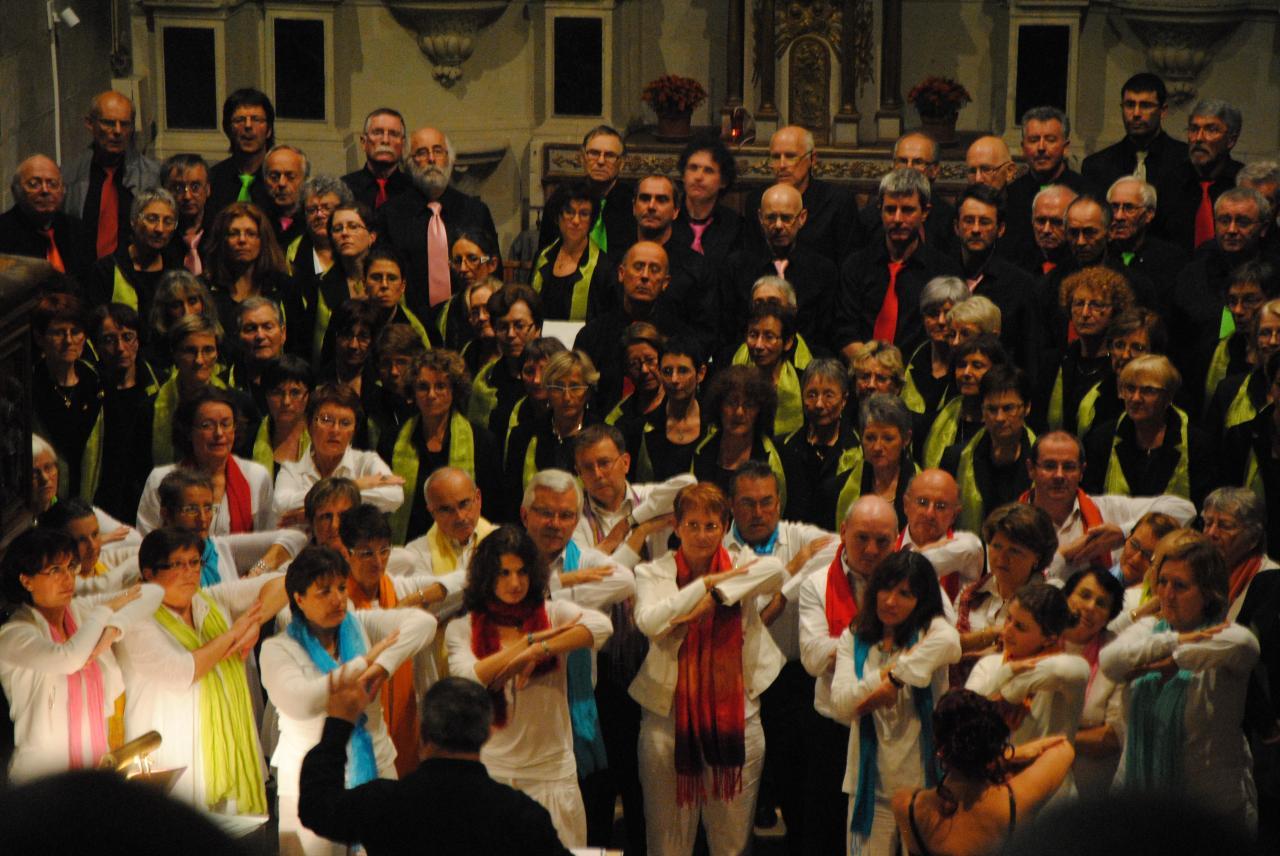 Concert Eglise d'Andard 12-11-2011